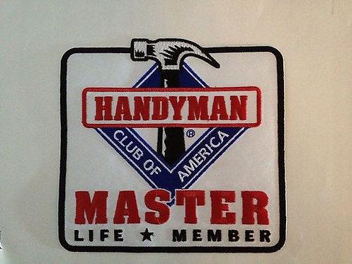 Handyman Club of America Master Life Member Patch