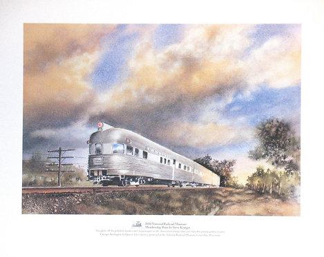2010 National Railroad Museum Membership Print