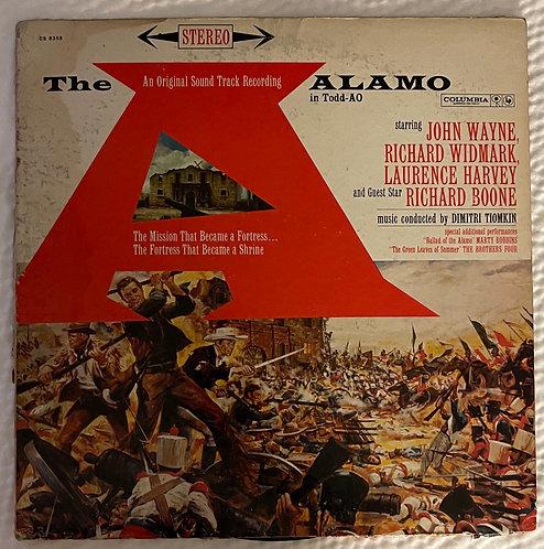 33 ⅓ RPM Vintage Phonograph Record - Sound Track toThe Alamo