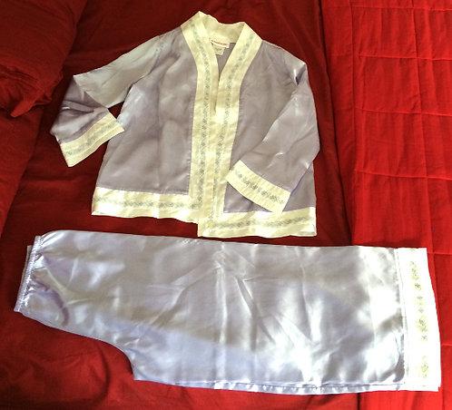 American Girl RN92138 Violet White Pajama Set (M)