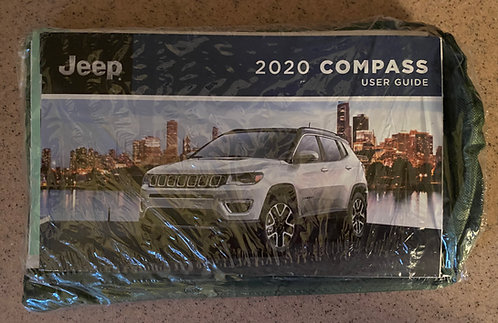 2020 Jeep Compass US Owners Manuals Kit P68457772AB