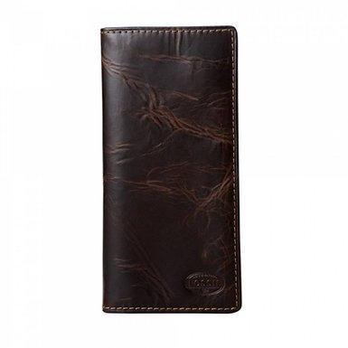 Fossil Men's Norton Secretary Brn Wallet Ml3176200