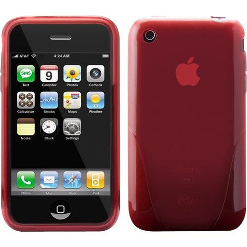 New iSkin Solo for the 3G iPhone RED
