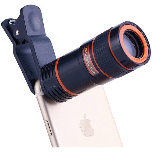 Vivitar VIV-SP-804-WM 8x Telephoto Lens for Smartphones