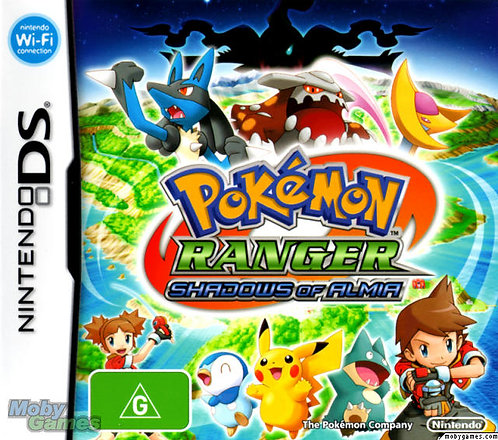Pokemon Ranger: Shadows of Almia (Nintendo DS)