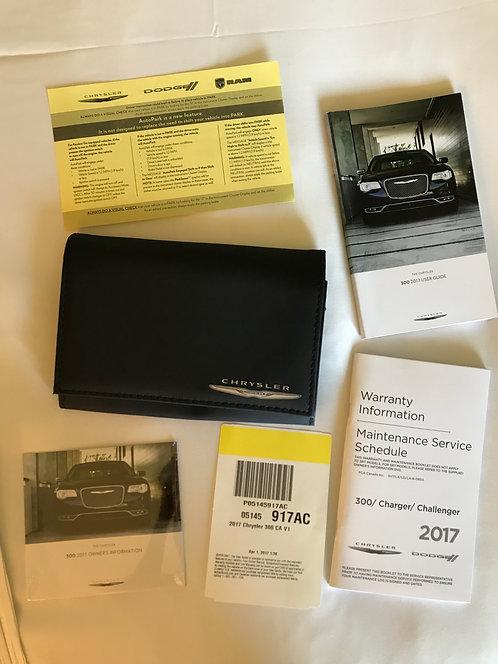 2017 Chrysler 300 CA V1 Owners Manual Portfolio