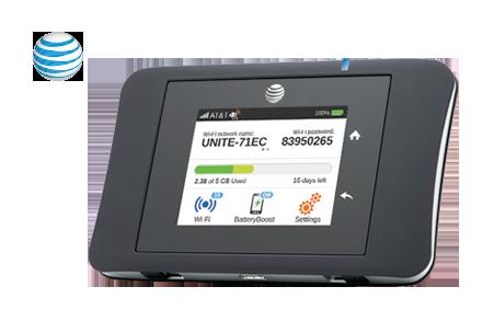 AT&T Unite Pro 4G LTE Mobile WiFi Hotspot