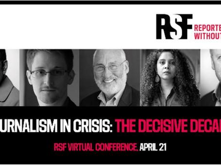 """RSF - Reporters sans frontières (Reporter ohne Grenzen)"" stoßen an technische Grenzen"