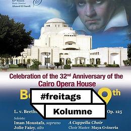 Die Oper Kairo feiert sich mit Beethoven