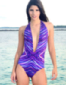 Kmswimwear one piece beachwear USA14