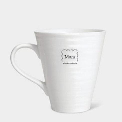 East of India 'Mum' porcelain mug