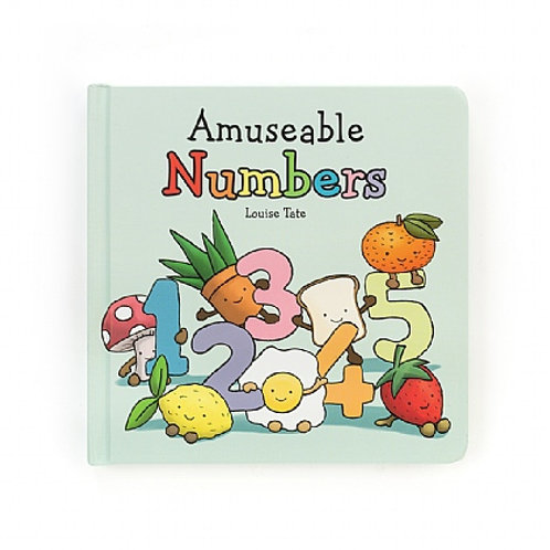 Jellycat 'amusable numbers' book