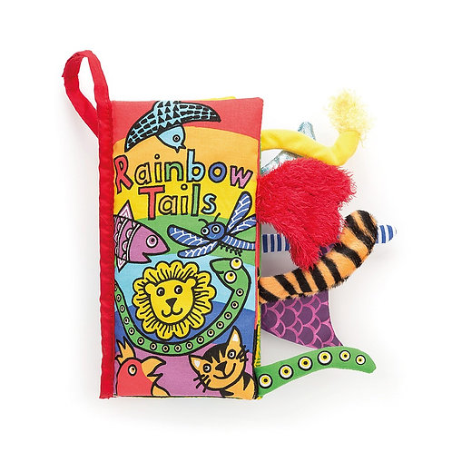 Jellycat 'tails' squishy books