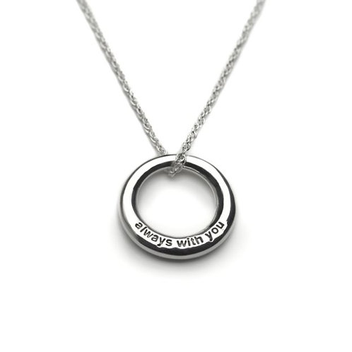 Tales from the earth 'always with you' sterling silver necklace