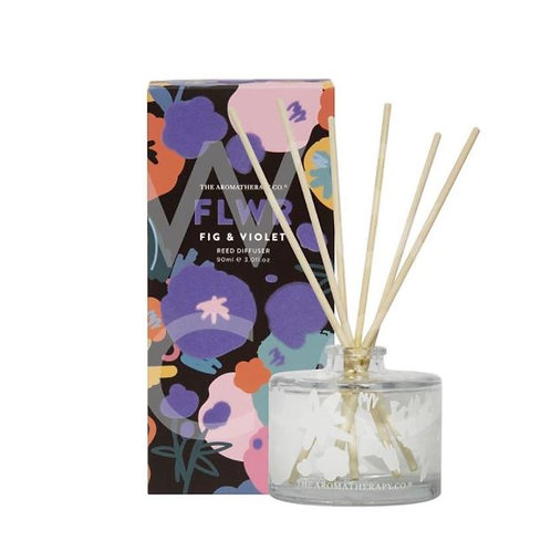 The aromatherapy co. FLWR fig and violet diffuser 90ml