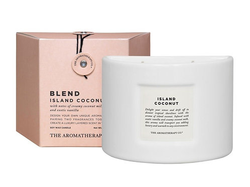 The Aromatherapy Co. Blend Candle- Island Coconut