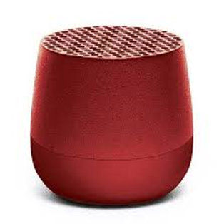Lexon mino+ wireless bluetooth speaker red