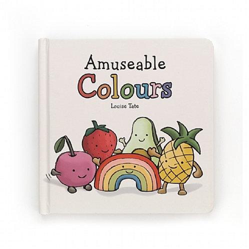 Jellycat 'amusable colours' book