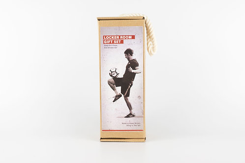 Sting in the tail Locker room Gift set (football soap on a rope and shower gel)