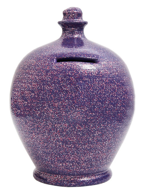 Terramundi purple splatter pot