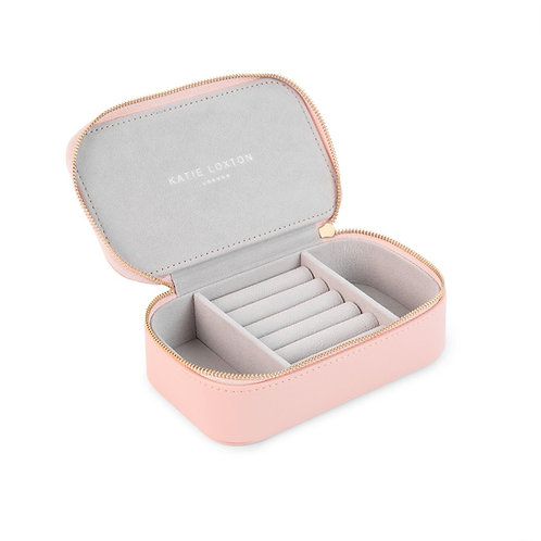 Katie loxton 'follow your heart' medium pink jewellery box