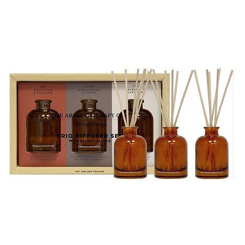 The Aromatherapy Co. Therapy Range Trio Diffuser Set