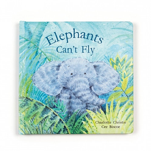 Jellycat 'elephants can't fly' book