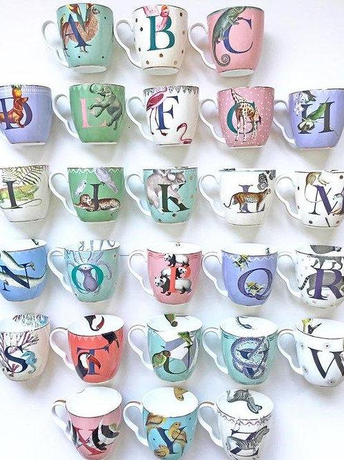 Yvonne Ellen Alphabet mugs