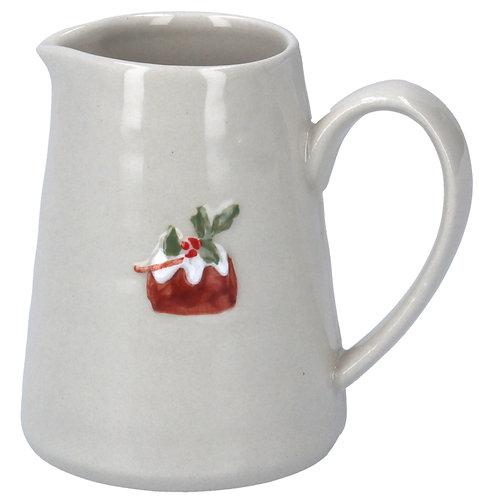 Gisela Graham Christmas Pudding Jug