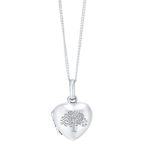 Jambo jewellery sterling silver tree of life pendant