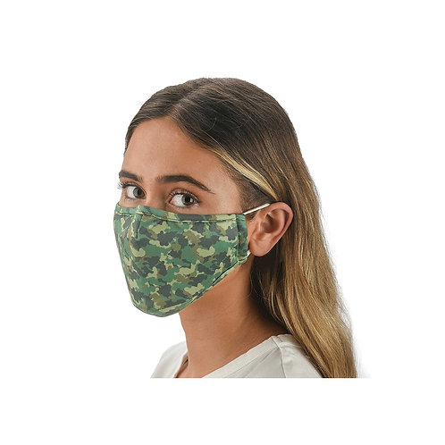 Snoozies Washable Face Covering - Camo