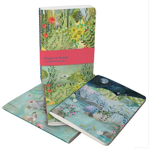 Roger la borde dreamland trio A6 notebook set