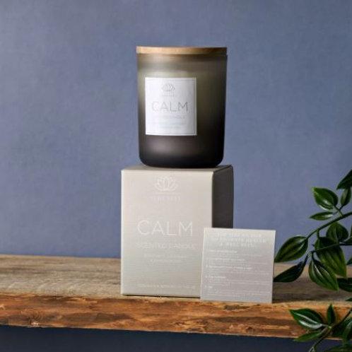 Serenity calm candle, bergamot, lavendar and saffron 120g