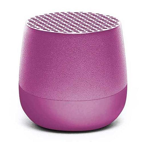 Lexon mino+ wireless bluetooth speaker purple