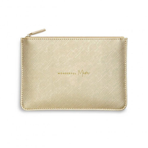 Katie Loxton Quote Pouch 'wonderful mum'