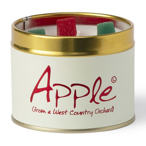 Lily Flame 'Apple!' Scented Candle Tin