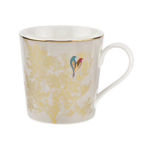 Sara Miller Portmeirion White Bird Mug