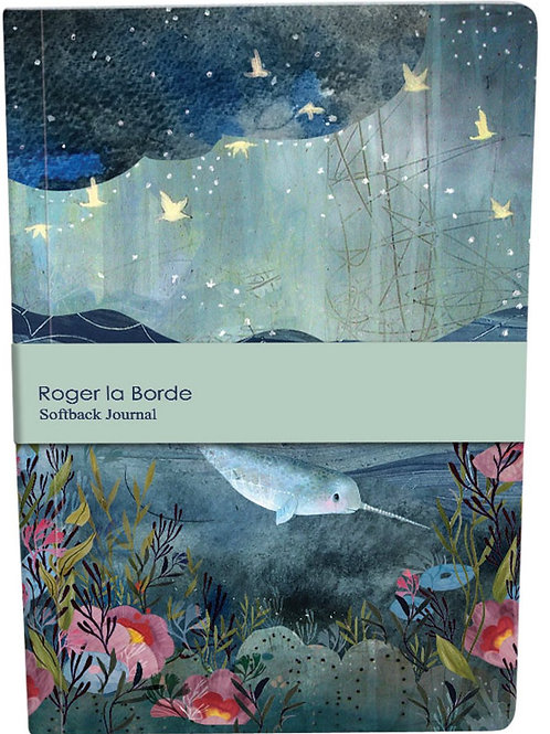 Roger la borde dreamland A5 softback notebook