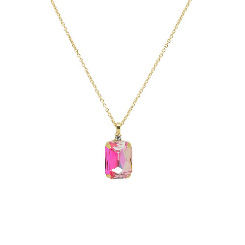 Last true angel single gem necklace