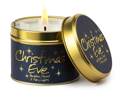 Lily Flame 'Christmas Eve' Scented Candle Tin