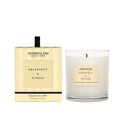 Stoneglow grapefruit and mimosa Scented Candle