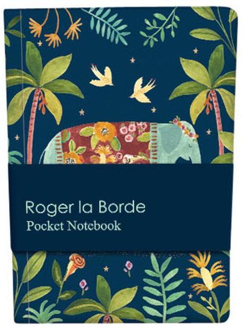 Roger la borde Rosie Harbottle pocket notebook