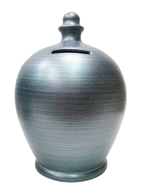 Terramundi grey metallic pot