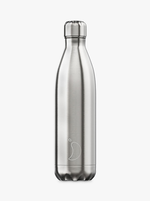 Chilly's Silver 500ml Bottle