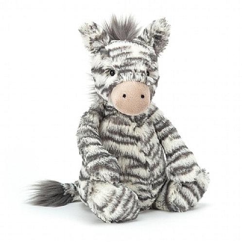 Jellycat medium bashful zebra cuddly toy