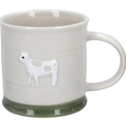 Gisela Graham mini ceramic cow mug