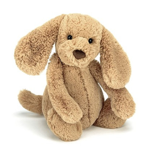 Jellycat Bashful Toffee Puppy cuddly toy