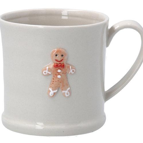 Gisela Graham Gingerbread man Christmas Mug
