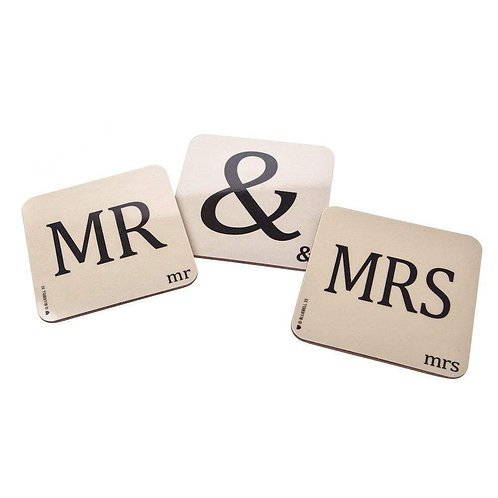 Bluebell 33 'Mr & Mrs' coasters
