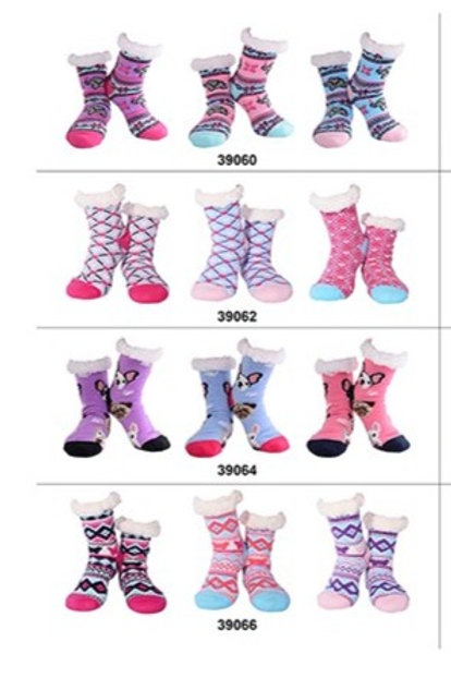 Nuzzles Womens Non-Skid Sole Socks Part 1